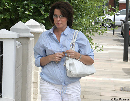 What Natasha Kaplinsky might look like in about 6 months' time