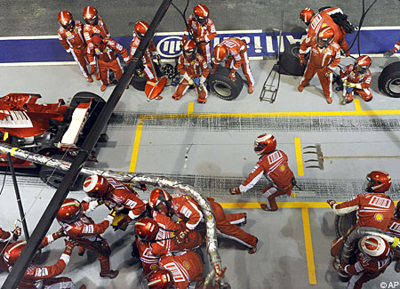 Felipe Massa fuel hose