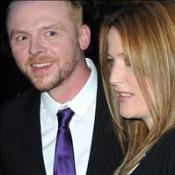 Anderson and Pegg attend film premiere