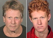 Ryan O'Neal held after 'drugs find'