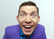 Lee Evans still the comedy king