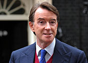 'Not in charge': Lord Mandelson