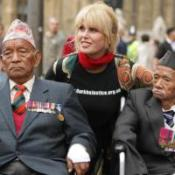 Lumley seeks support for Gurkhas