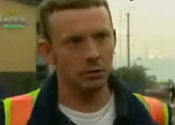 Glasgow airport 'car bomb' hero fights for life