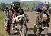 Fighting in Congo traps thousands