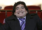 'Fist of Butcher' threatens Maradona