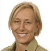 Navratilova: Gays must come out