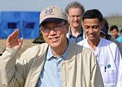 Ex-world leaders in Burma plea