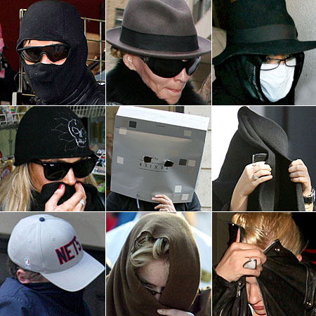 Celeb squares Celebs in disguise