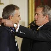 Blair handed top US civilian honour