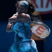 Serena given easy passage through in Melbourne