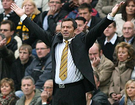 Under-fire: Hull boss Brown