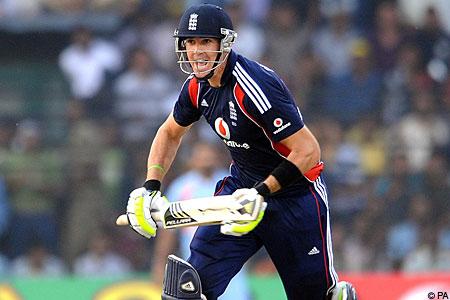 Pietersen batting India