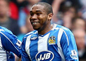 Wigan reject Tottenham offer for Palacios