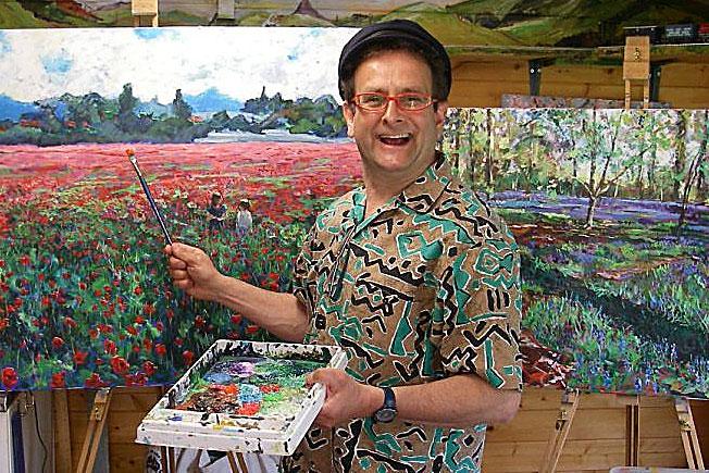 Timmy Mallett painting