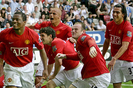 Manchester United title