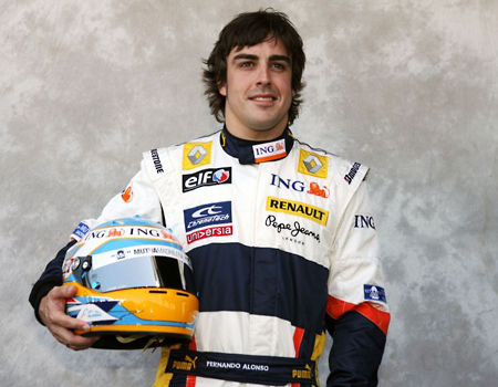 Ferrari move: Two-time world champion Fernando Alonso is off to Italy