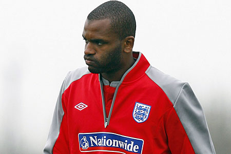 Darren Bent missed out on an England call-up