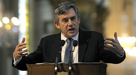 Gordon Brown has admited the expenses row has led to a complete loss of trust in politicians
