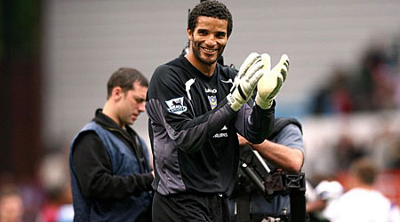 Warning: David James has been told to fight for his Portsmouth future