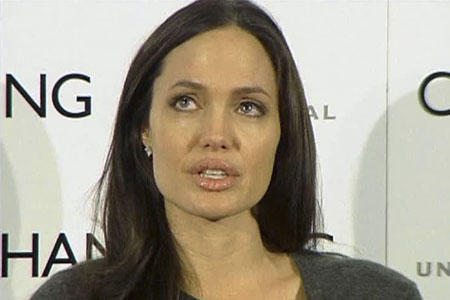 angelina jolie tears