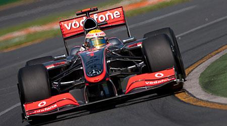 Lewis Hamilton 2009 McLaren