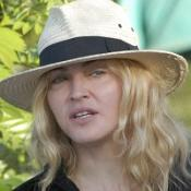 Madonna is keeping mum about plans to adopt a four-year-old girl in Malawi