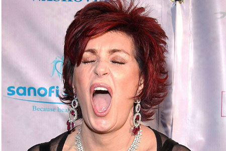 Sharon Osbourne thinks Russell Brand is sexy