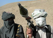 Taliban militants: targeted by offensive