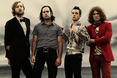 The Killers create hot fuss at the Isle of Wight Festival
