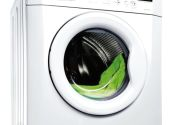 A washing machine: angry, wet cat not pictured
