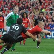 Munster crush Ospreys