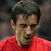 Neville and O'Shea out for United
