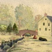 Hitler's paintings sold for £95,000