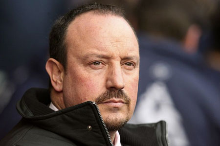 Under pressure: Rafael Benitez has been told the buck stops with him at Liverpool
