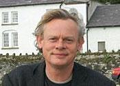 Martin Clunes on lawnmower racing