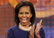 Michelle Obama:' Sesame Street tops everything'