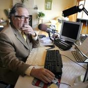 Shock jock banned from UK 'to sue'