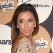 Eva Longoria glitters at party
