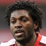 Adebayor reiterates Gunners contentment