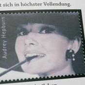 Audrey Hepburn stamp auctioned