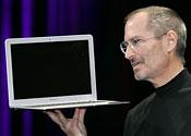 Apple boss Steve Jobs 'back at work'