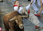 Briton gored to death by bull in Pamplona