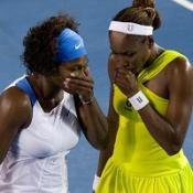 Serena looking for hat-trick