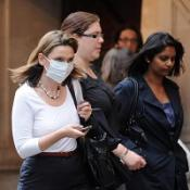 Dip in number of UK swine flu cases