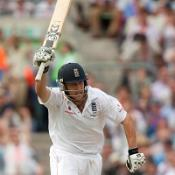 Debutant Trott inspires England