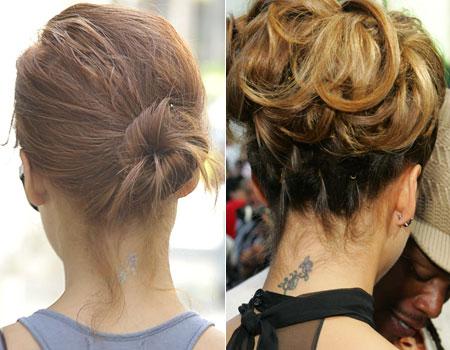Jessica Alba's tattoo has faded dramatically