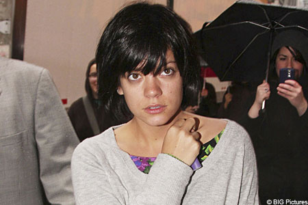 Lily Allen is the UK's third most-followed Twitter user