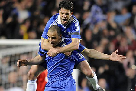 Sidelined: Ballack has not travelled witht he rest of the Chelsea squad