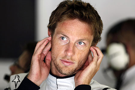 Top of the pile: Brawn's Jenson Button
